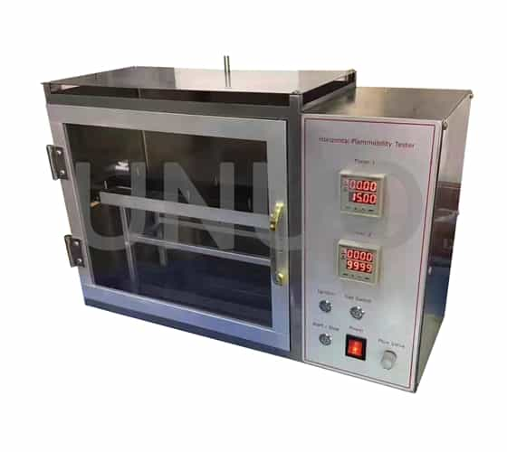 Horizontal Flammability Tester , flammability testing equipment