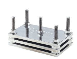 ASTM D395 Compression set test fixture